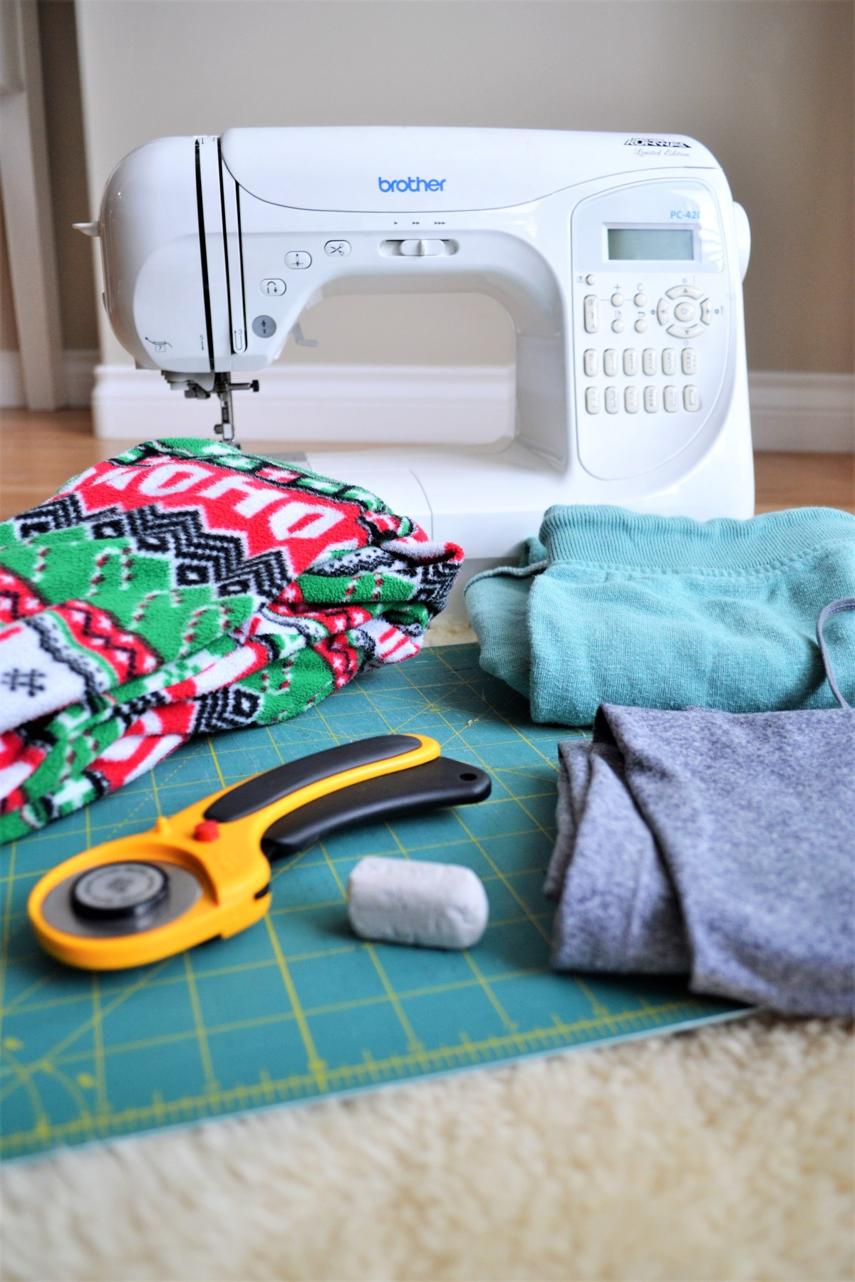 Toddler Boy Grow-With-Me-Pants Tutorial - supplies needed