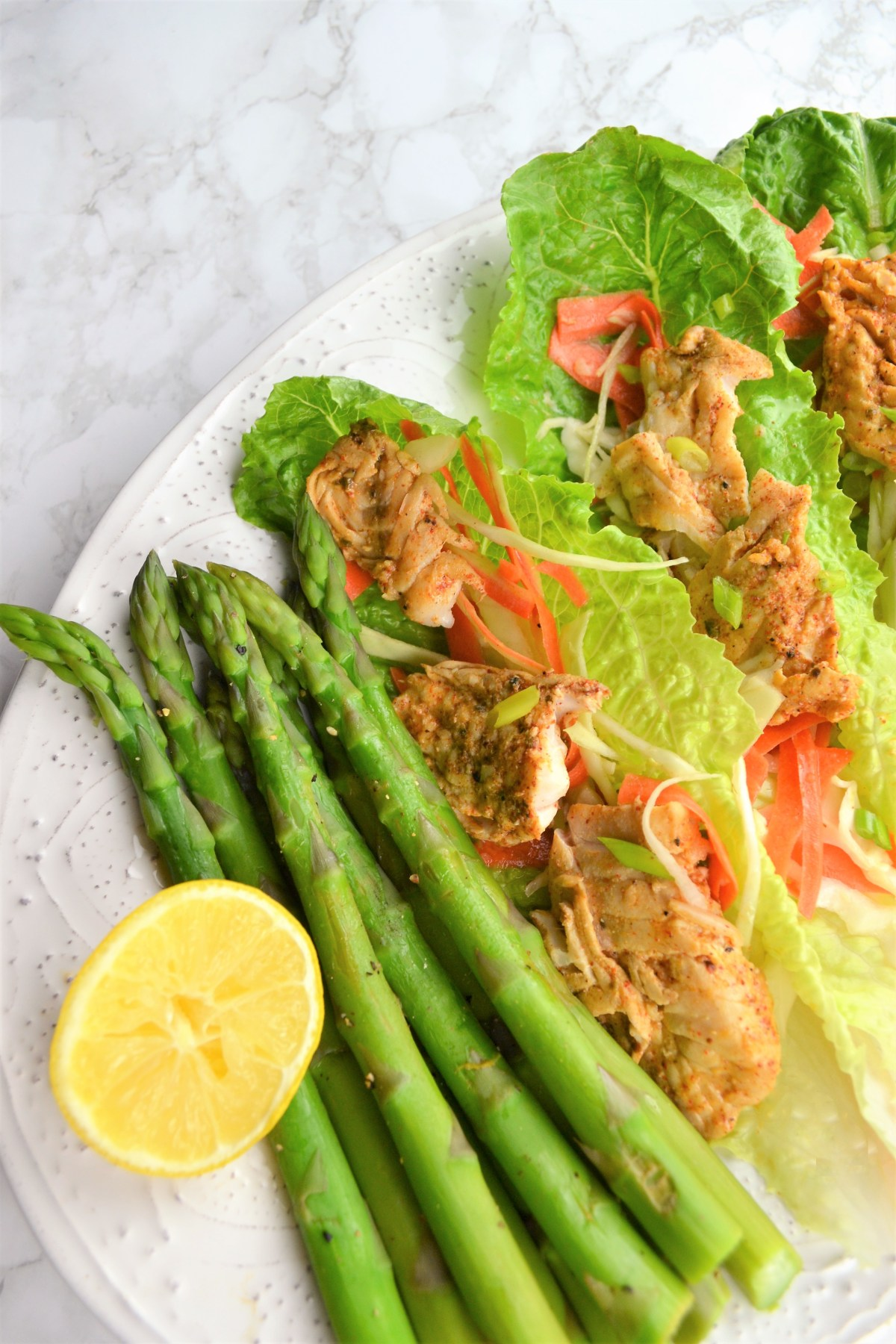Weight Loss: Fish Taco Lettuce Wrap Recipe - lettuce wrap recipe