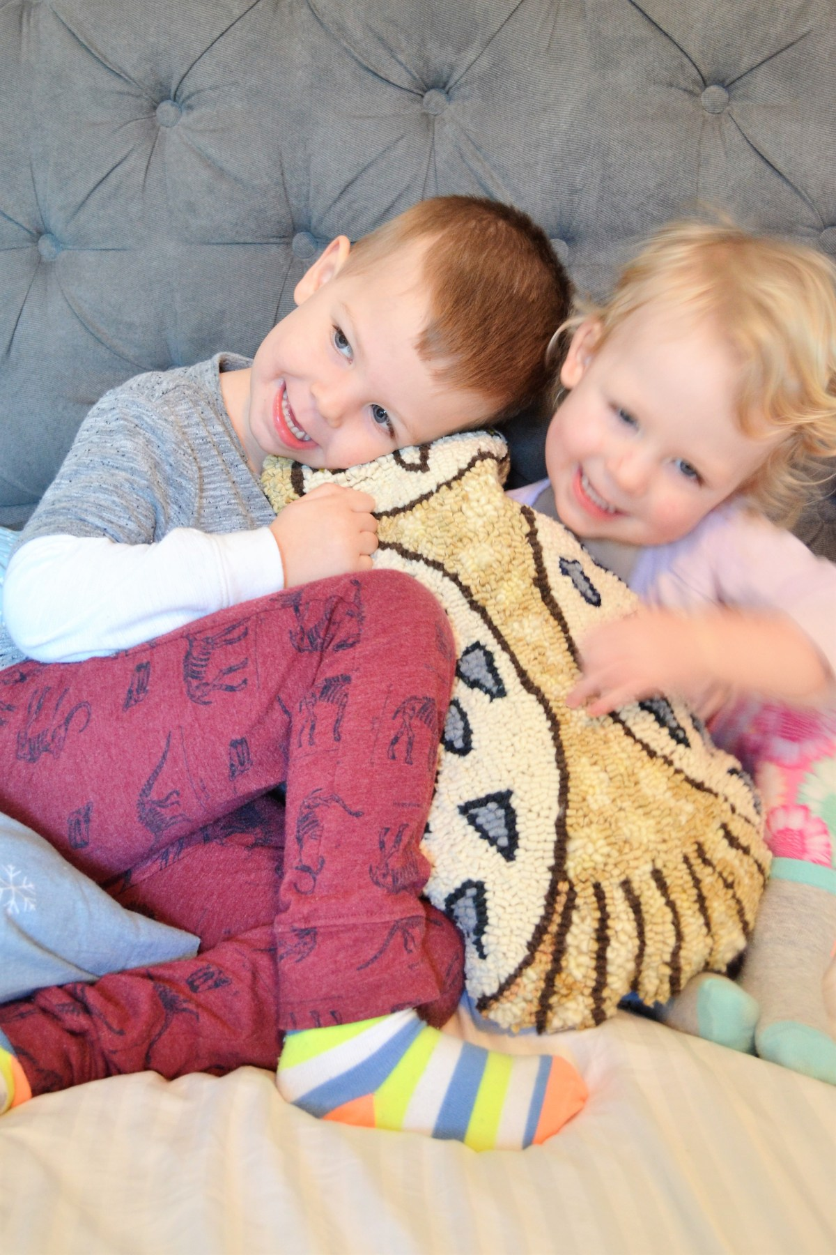 Rug Hooking: How to Make Your Rug Hooking Patterns into a Pillow! - kids pillows