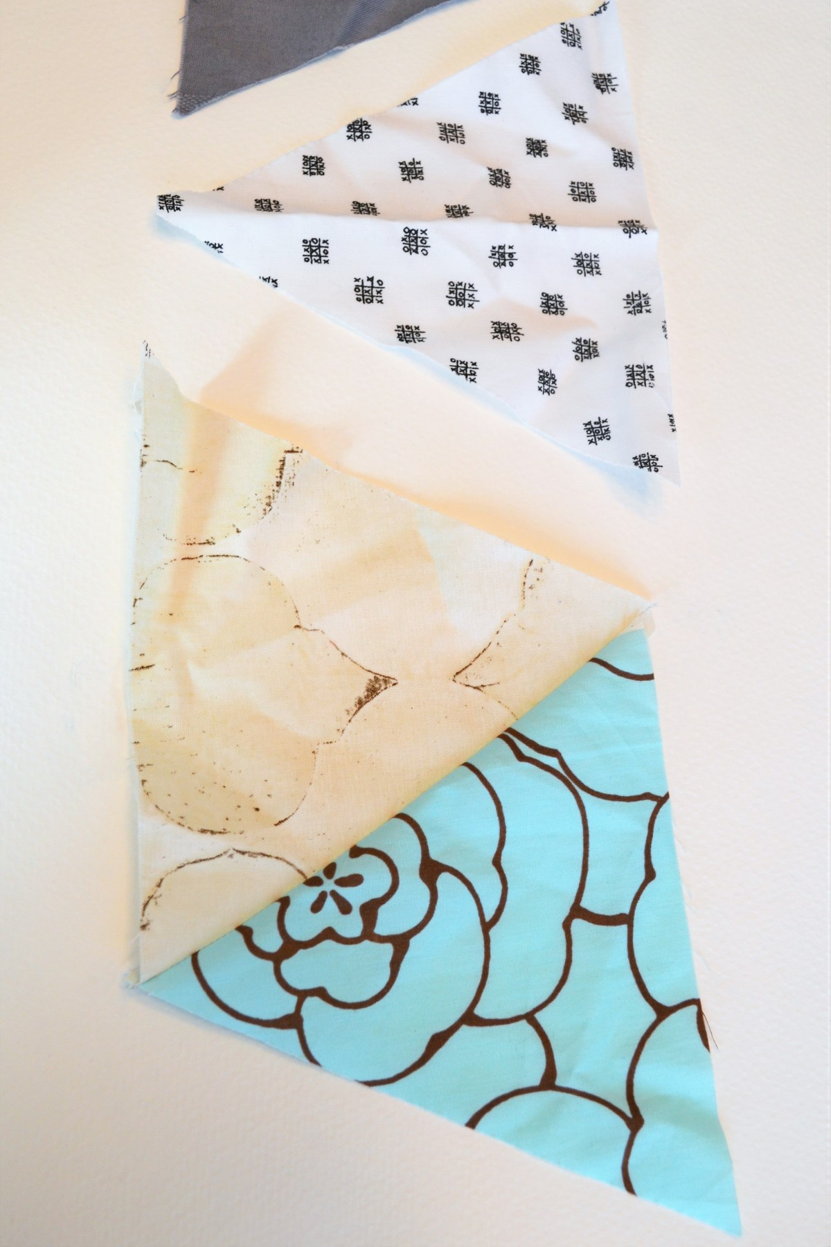 Baby Quilt Patterns Triangle Modern Quilt Pattern Making Things