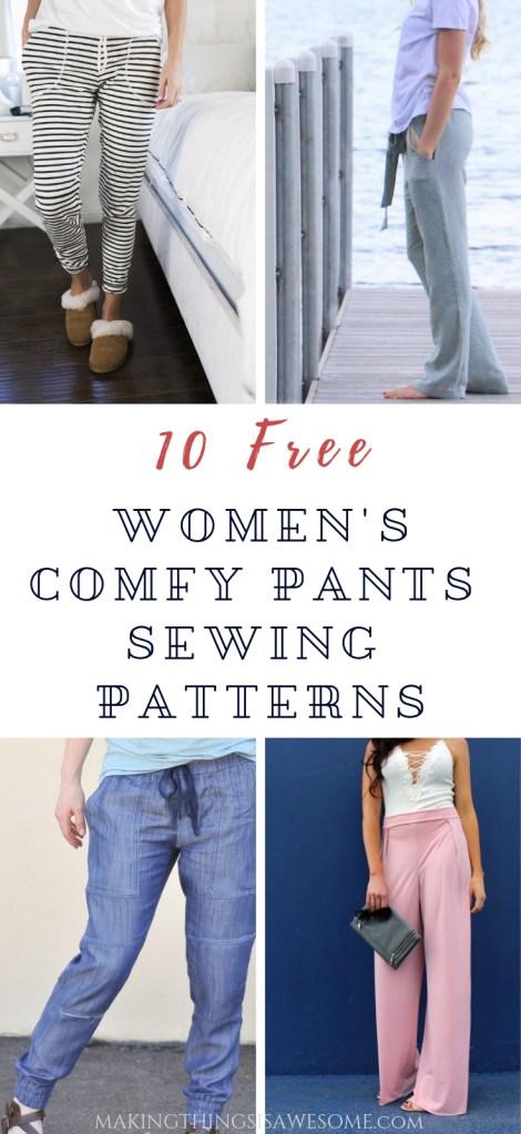 women's comfy pants sewing patterns - beautiful sewing patterns