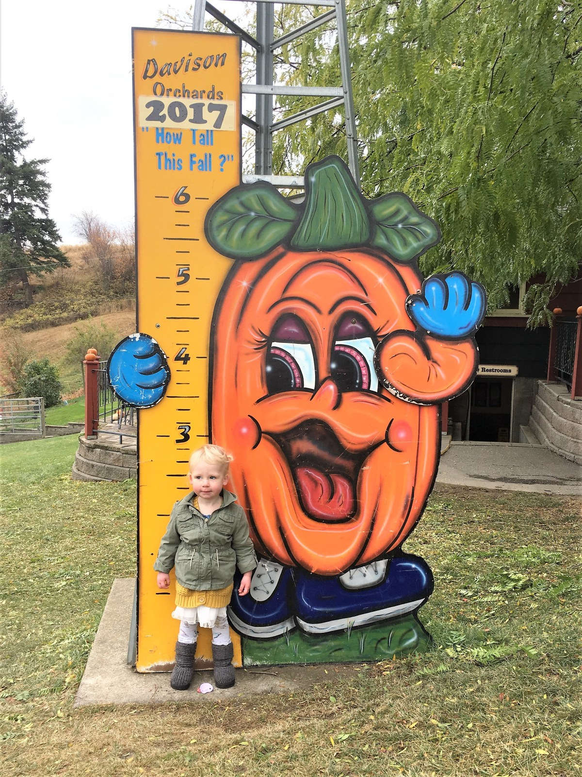 Davidson Orchard Adventure - growth chart