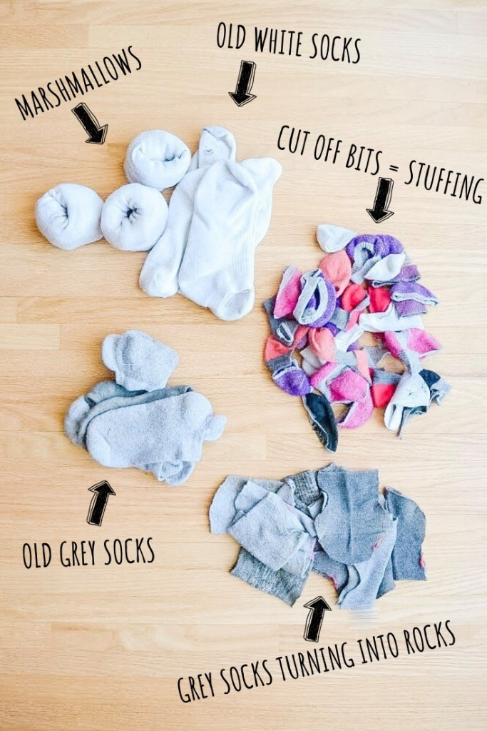 Upcycle old socks
