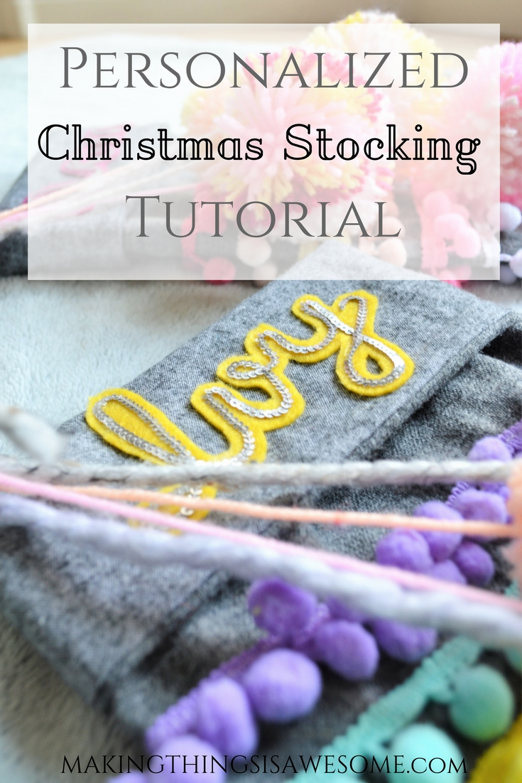 Personalized Christmas Stockings - pin #2