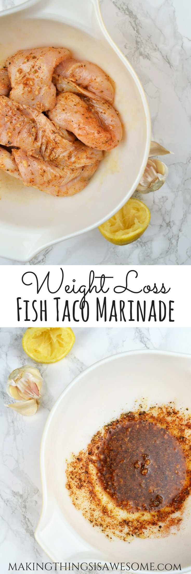 Weight Loss Fish Taco Marinade - pin