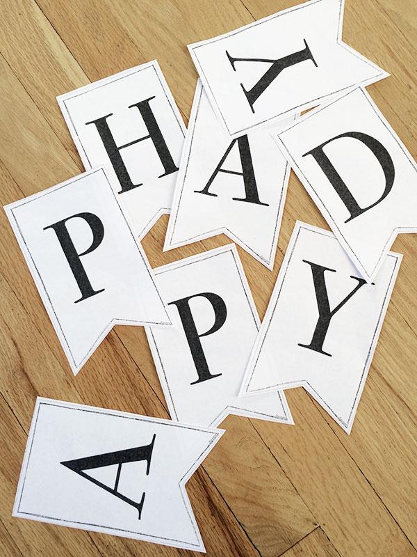 10 Free Printable Alphabet Banners!   Round Up!   Printable Classic Alphabet  Banner