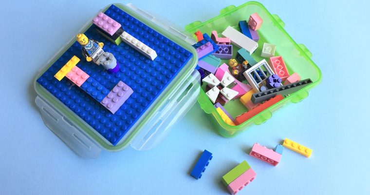 Travel LEGO Kit: Awesome DIY Kids Party Favor Idea!