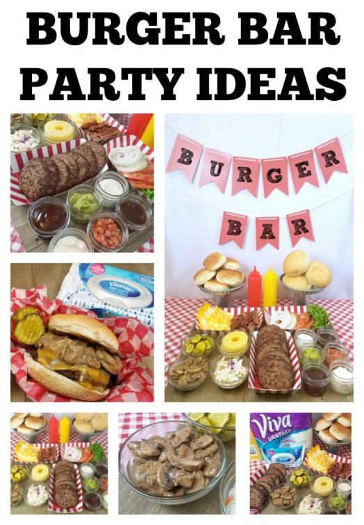 Burger Bar Party Ideas