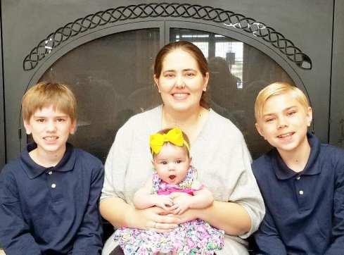 me and my three kids