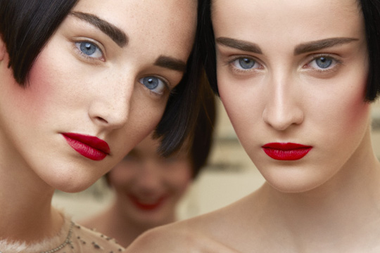 2015-16 Fall-Winter Chanele Haute Couture Show, makeup by Chanel Photo Benoît Peverelli