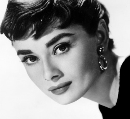 Audrey Hepburn famous brows