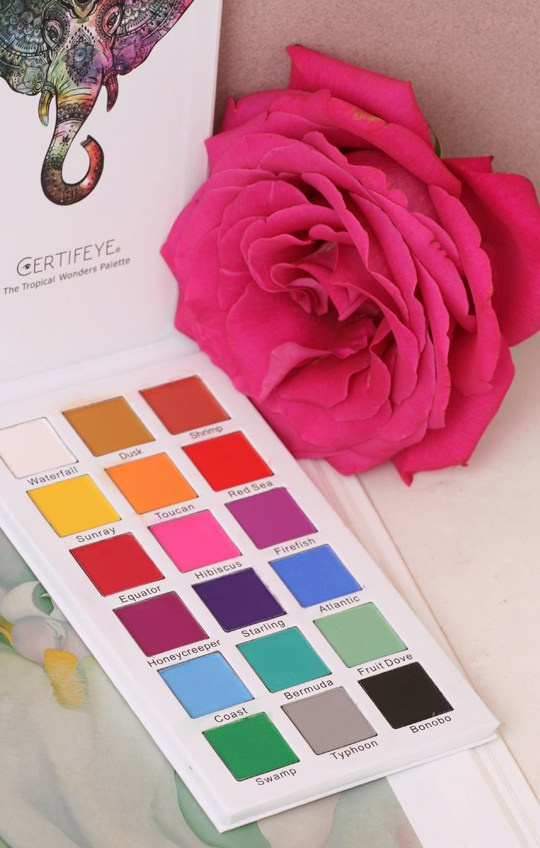Making Up The Magic Certifeye palette review