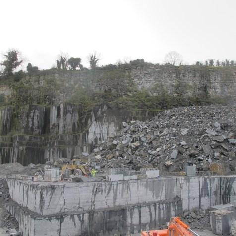 Limestone extraction