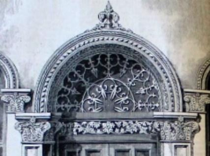 Door design, 1854