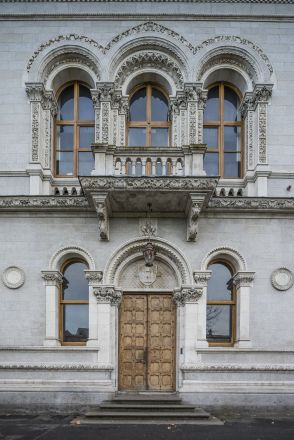 North facade of the Museum Building