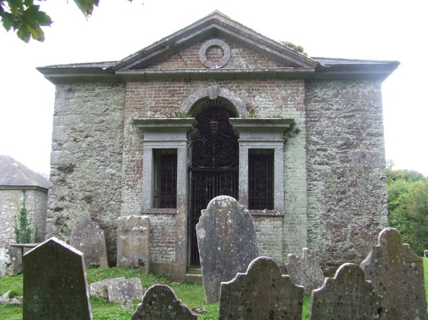 Barrymore Mausoleum (Photograph courtesy of Frank Keohane)