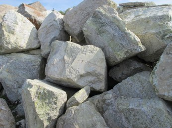 Raw blocks of Connemara Marble