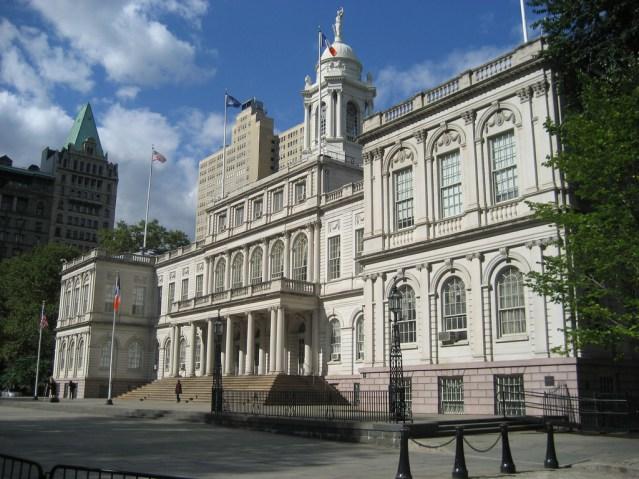 city hall nyc