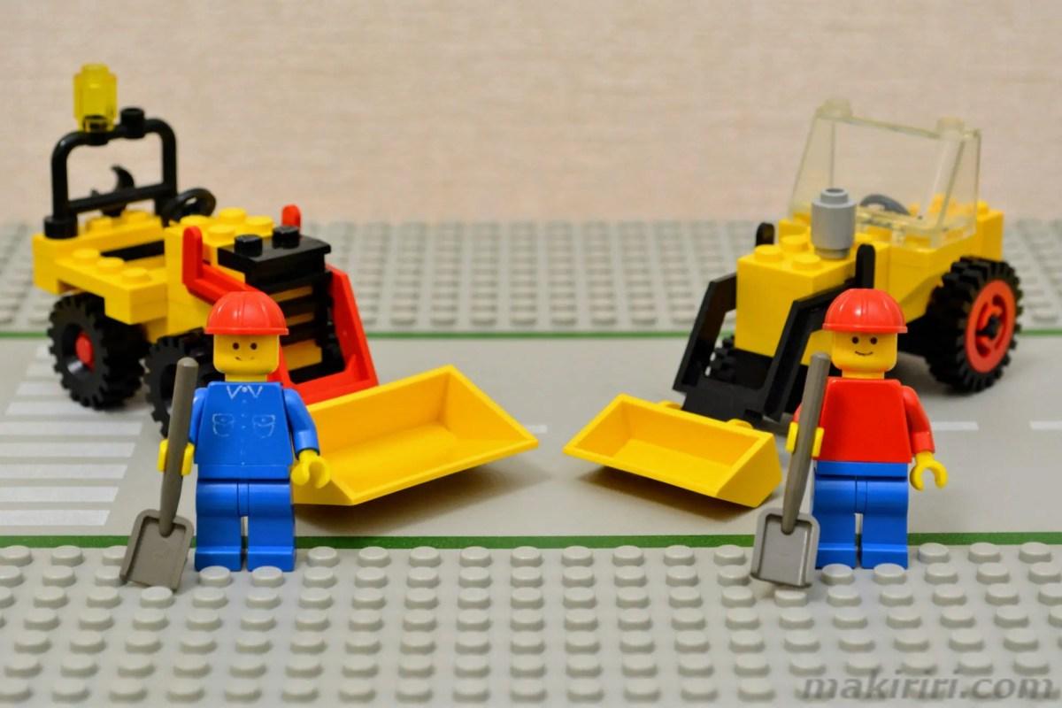 【発掘なつレゴ】625工事トラクター&6630シャベルカー