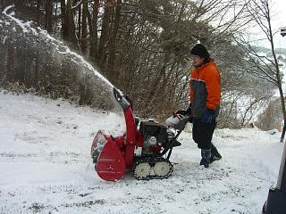 除雪機の活躍