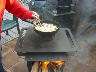 アウトドアオーブン