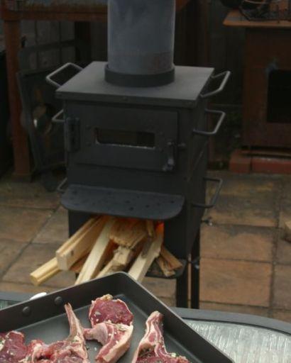 オーブンとラムの香草焼き