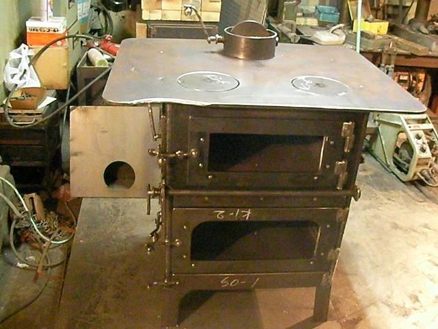 オーブン付薪ストーブ