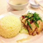 南香飯店の海南鶏飯