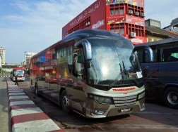 コタバル→クアラルンプールのバス