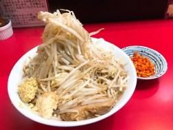 千里眼のラーメン730円
