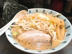 一蔵の味噌野菜バターらーめん980円