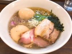 CLAM&BONITO貝節麺RAIKの特製貝節潮そば980円