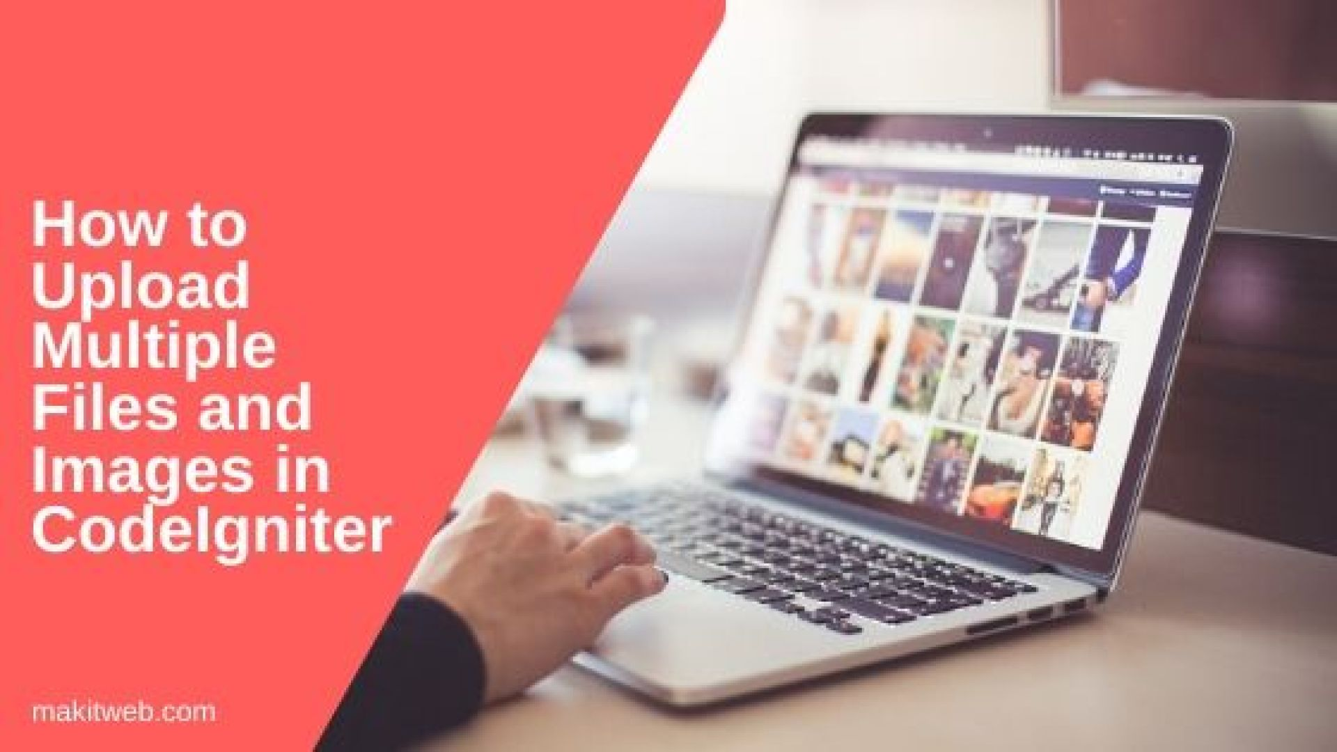 How to upload Multiple Files and Images in CodeIgniter