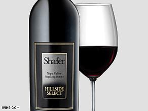 Shafer Cafernet Hillside Select wine at $500 a bottle