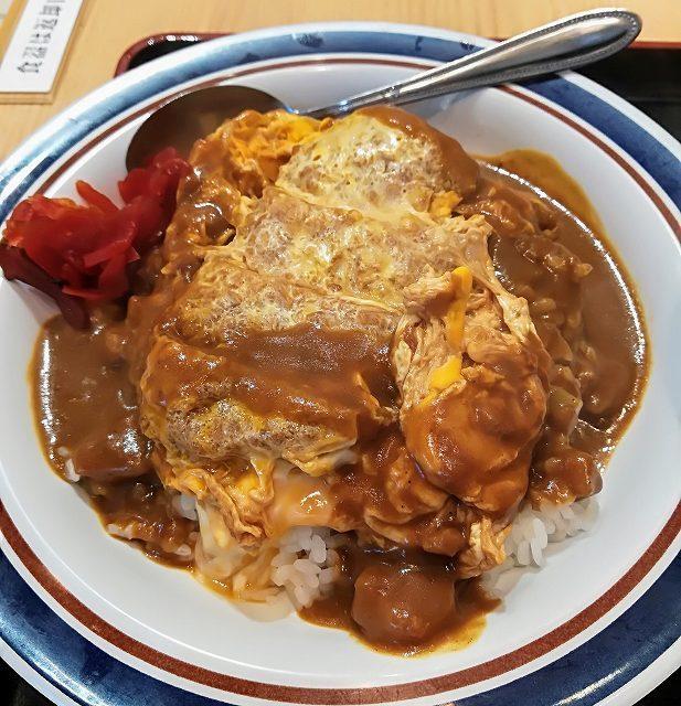 名代箱根そば カレーかつ丼