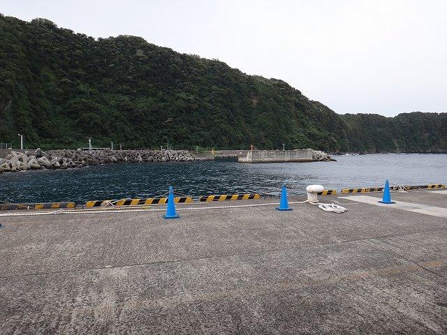 伊豆大島の港