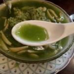翡翠楼の緑のチャーハン