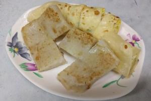 永和豆漿大王のダンピンと大根餅