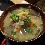 梅山鉄平食堂の豚汁