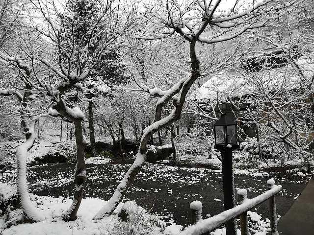 青荷温泉ランプの宿 景色