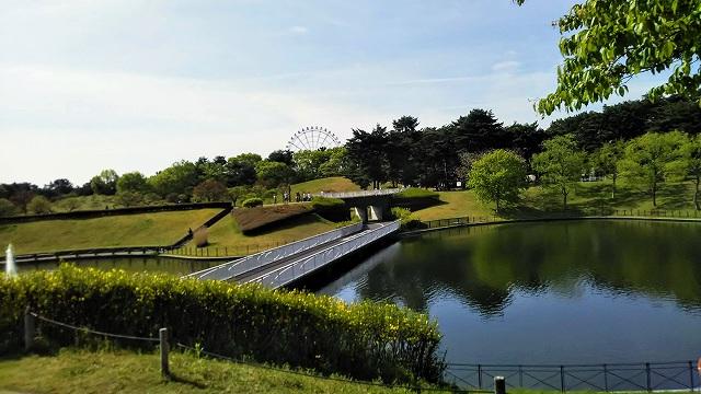 ひたち海浜公園 池
