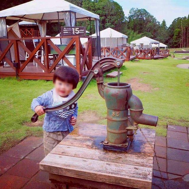 THEファームキャンプ場 井戸ポンプ