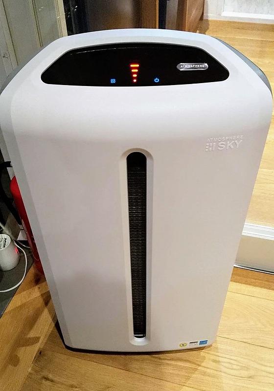 タイニーベースの空気清浄機