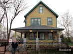 A Christmas Story House in Cleveland, Ohio. Photo by Michael Kleen