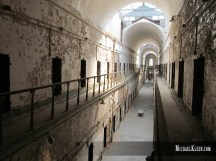 Eastern State Penitentiary in Philadelphia, Pennsylvania. Photo by Michael Kleen