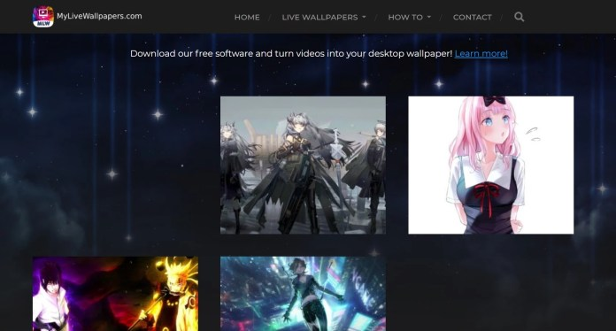 MyLiveWallpapers: Live Anime Wallpapers for Windows 11