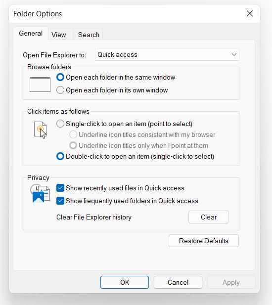show hidden drives in Windows 11