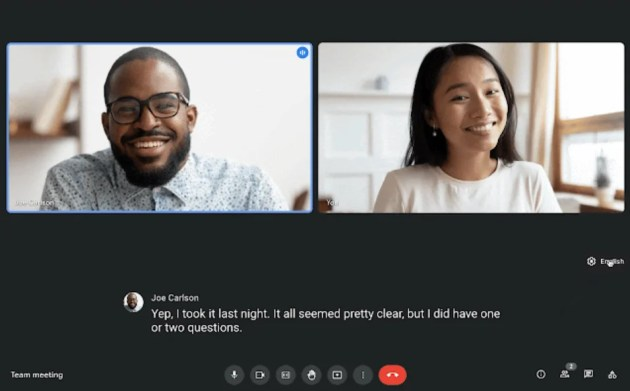 Enable Live Translated Captions in Google Meet
