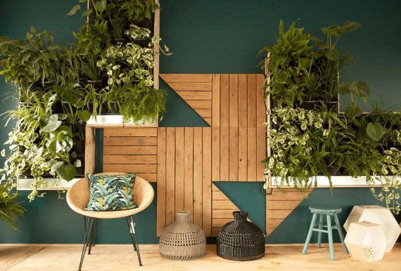 Desain taman minimalish dalam rumah