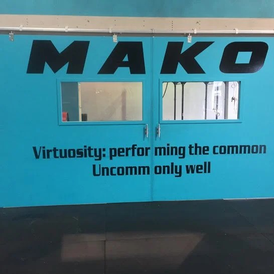 Performing the common, uncommonly well - Mako Athletics